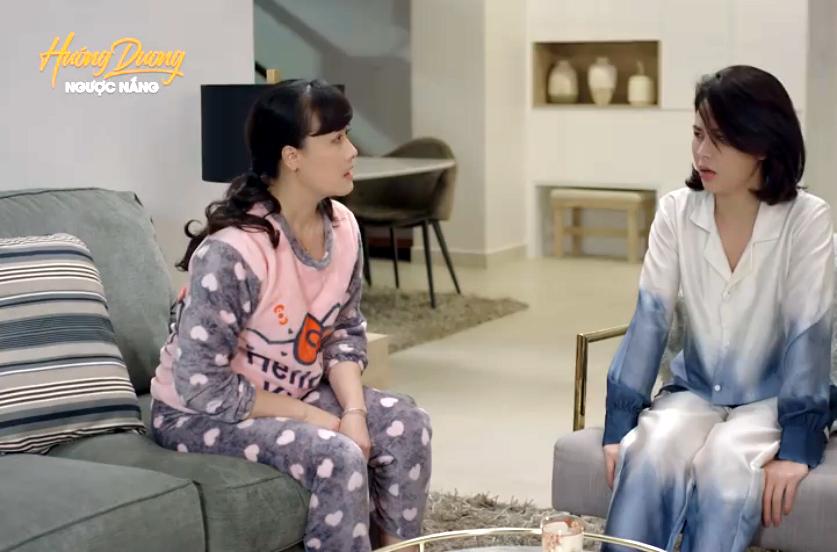 'Hướng dương ngược nắng' tập 61, Hoàng bỏ đi khi thấy Phúc ôm Minh