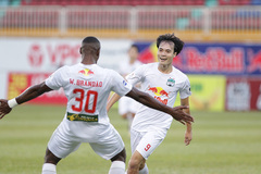 Vòng 12 V-League: HAGL đứt mạch thắng, Lee Nguyễn toả sáng