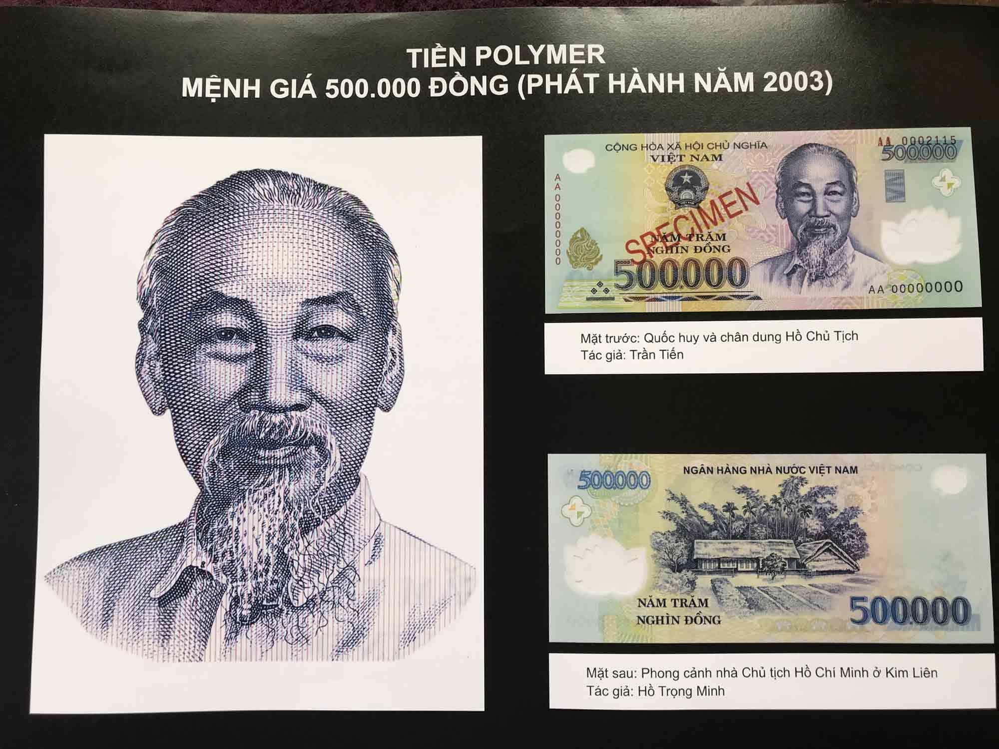 Hình ảnh Chủ tịch Hồ Chí Minh trên đồng tiền Việt Nam