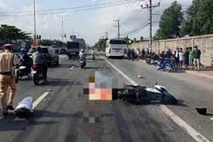 Va chạm với xe khách, một thanh niên tử vong