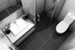 Giải pháp thiết kế nhà vệ sinh trong nhà ống nhỏ hẹp
