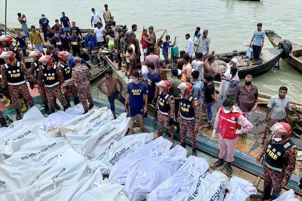 Va chạm tàu thủy trên sông, hàng chục người Bangladesh tử nạn