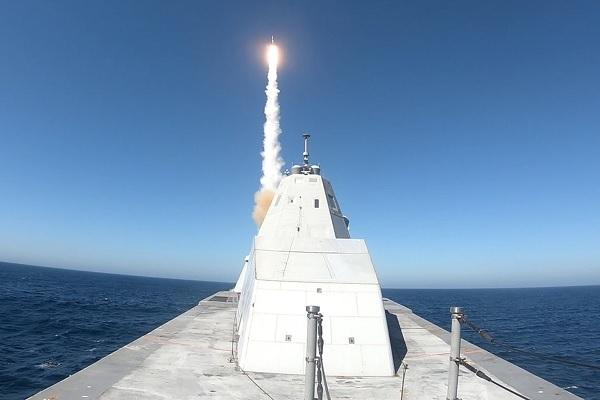 Bí ẩn tên lửa siêu vượt âm được Mỹ trang bị cho tàu khu trục Zumwalt
