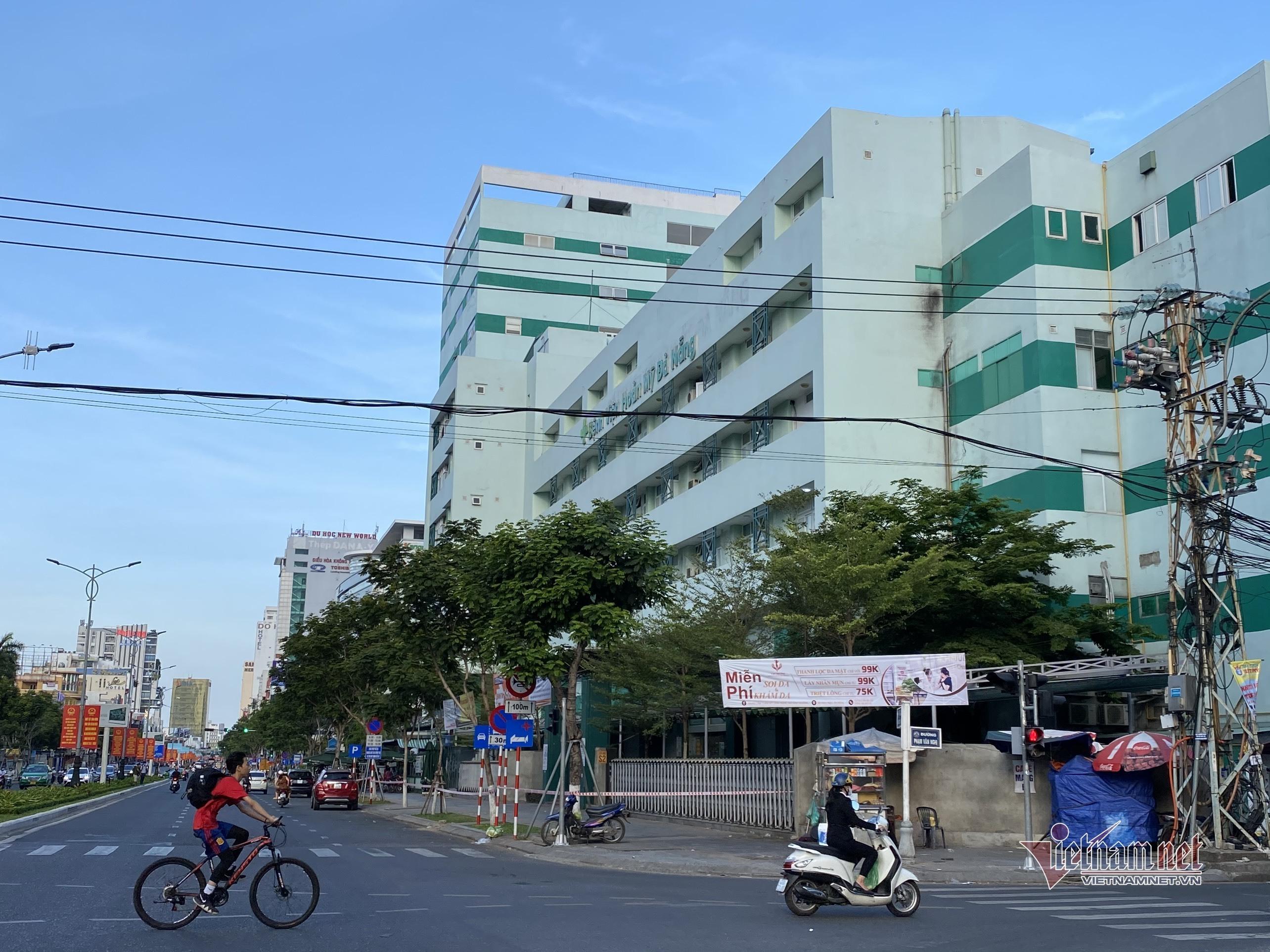 Đà Nẵng phong tỏa bệnh viện sau khi ghi nhận ca mắc Covid-19