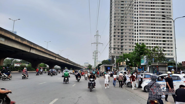 Đường về Hà Nội vắng khó tin chiều cuối đợt nghỉ lễ