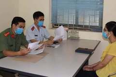 Bình luận sai về dịch Covid-19, một phụ nữ ở Hà Nam bị phạt 7,5 triệu