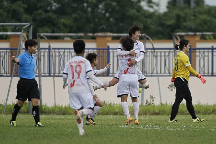 Nữ Hà Nội I giành vé vào chung kết Cup Quốc gia