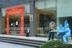 Hà Nội phong tỏa tạm thời tòa nhà Park 10, khu đô thị Times City
