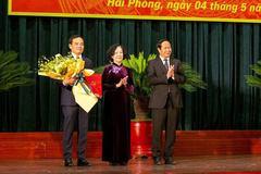 Ông Trần Lưu Quang làm Bí thư Thành phố Hải Phòng