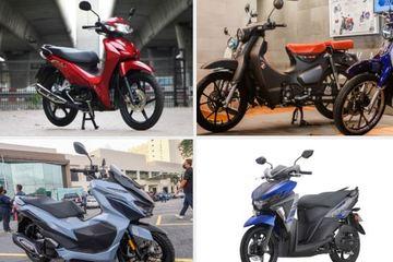 Loạt xe máy mới vừa ra mắt thu hút người tiêu dùng đầu quý II