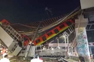 Sập đường sắt trên cao tại Mexico, ít nhất 13 người chết