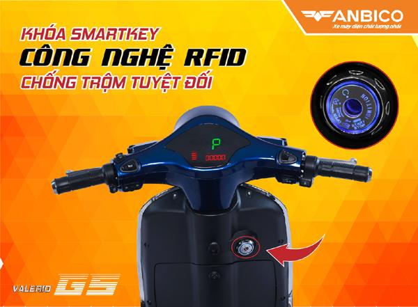 Xe máy điện Valerio GS: thông minh và thanh lịch