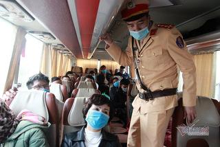 Quảng Ninh tạm dừng tuyến xe khách đi Vĩnh Phúc và Lý Nhân, Hà Nam
