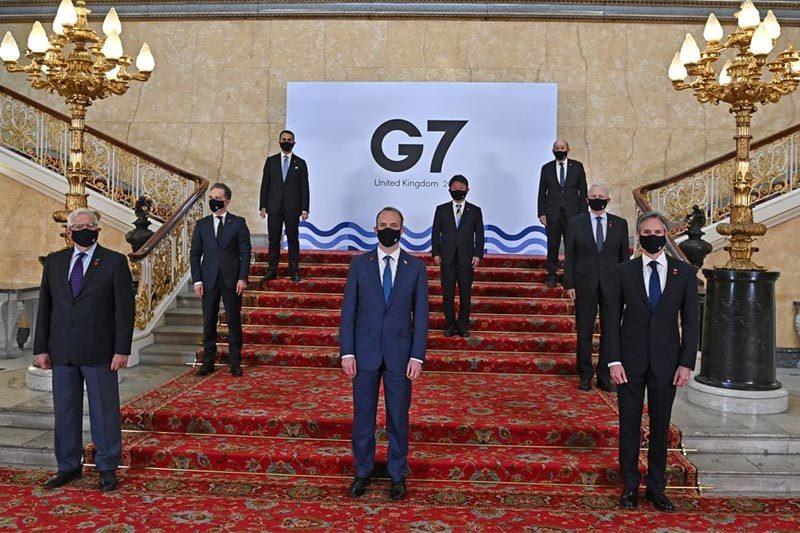 G7 bàn cách ứng phó Nga và Trung Quốc