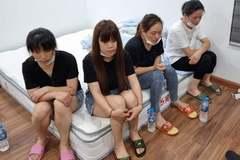 Bắt quả tang 12 người Trung Quốc nhập cảnh trái phép tại Hà Đông