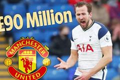 Xoa dịu fan, MU vung 90 triệu bảng tậu Harry Kane