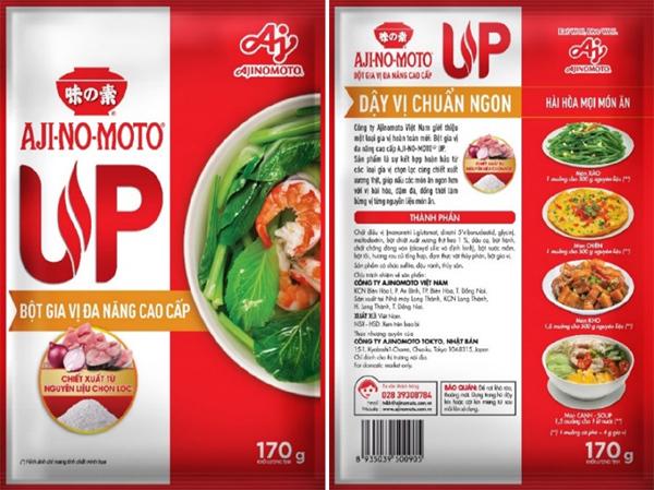 Món ăn 'chuẩn ngon' với Bột gia vị đa năng AJI-NO-MOTO® UP