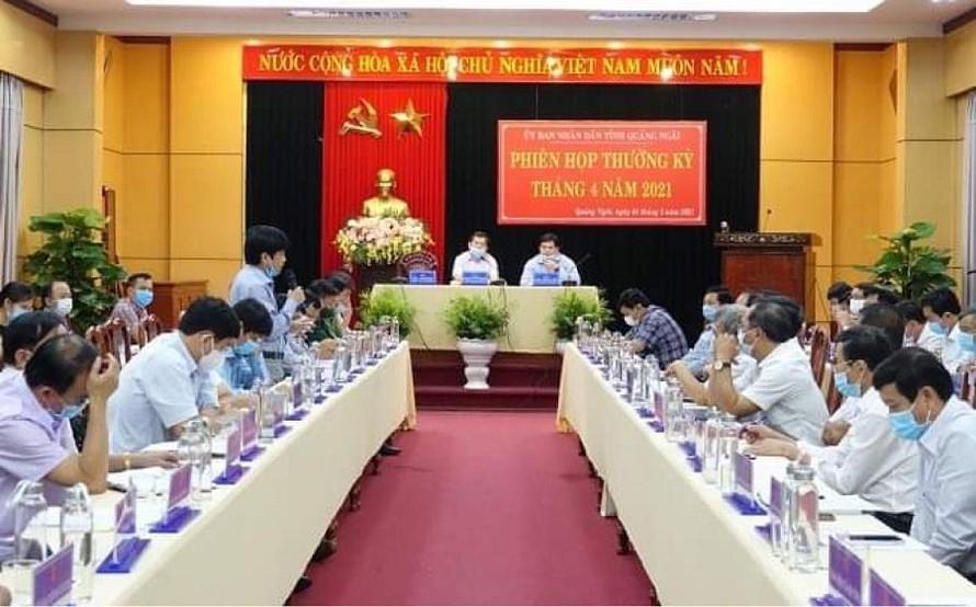 Nhiều lãnh đạo tỉnh Quảng Ngãi phải cách ly tại nhà vì họp chung với F1
