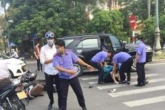 Viện trưởng kiểm sát dùng xe công đưa người gặp nạn đi cấp cứu