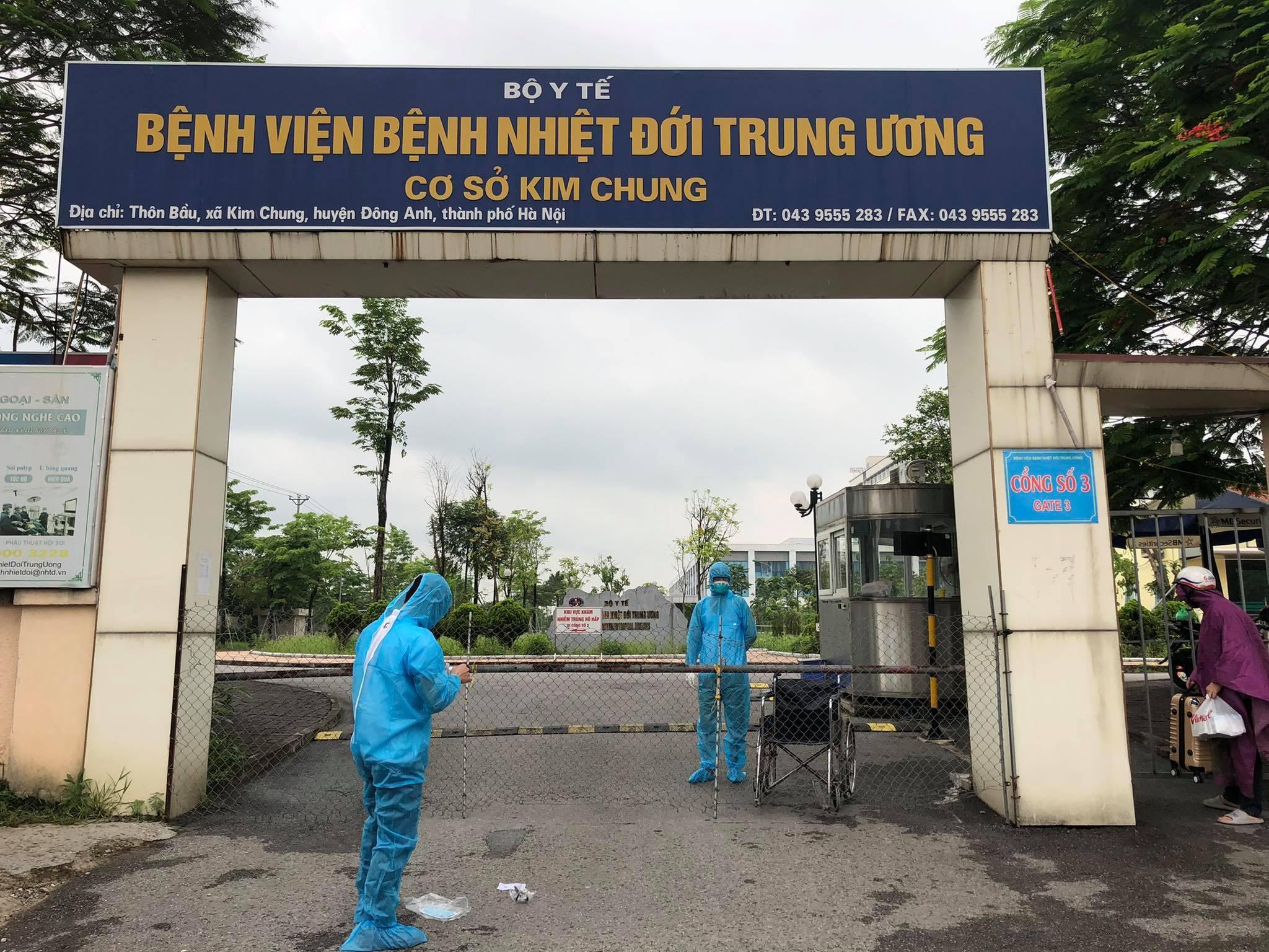 Phong tỏa Bệnh viện bệnh Nhiệt đới Trung ương liên quan ca mắc Covid-19 -  VietNamNet