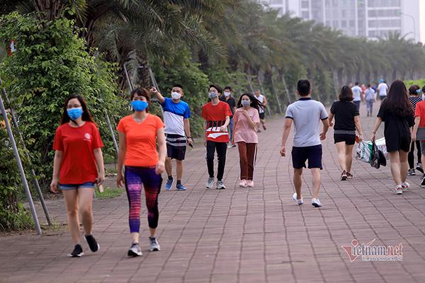 Hà Nội yêu cầu người dân tạm dừng tập thể dục tại nơi công cộng