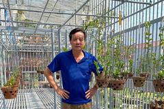 Ông chủ vườn lan tại Hải Dương chỉ cách xử lý sâu bệnh hoa lan