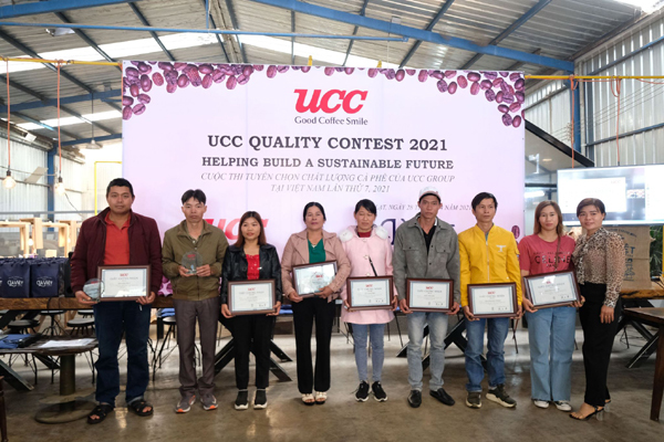UCC coffee quality contest aims at supporting VN coffee production and farmers