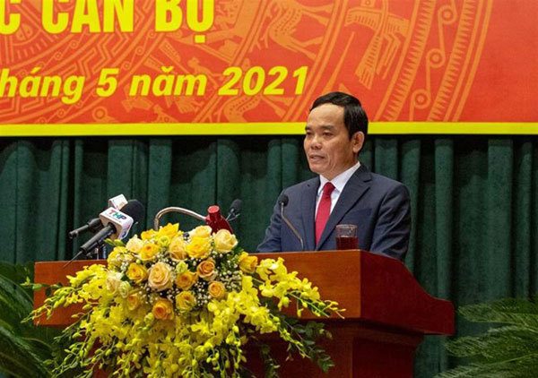 Tran Luu Quang becomes Hai Phong City Party secretary