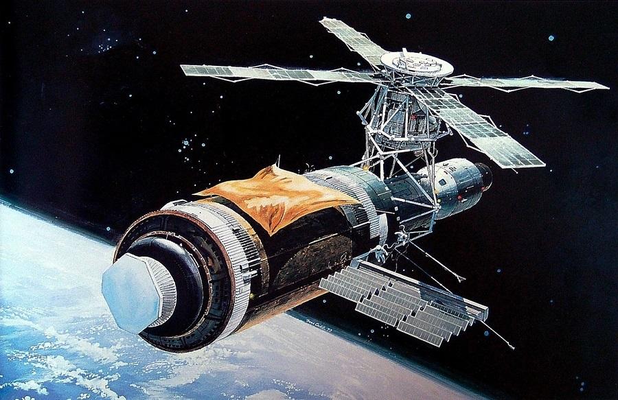 Trạm vũ trụ rơi nổ tung khi đáp xuống Trái Đất nhưng chỉ bị phạt 400 USD