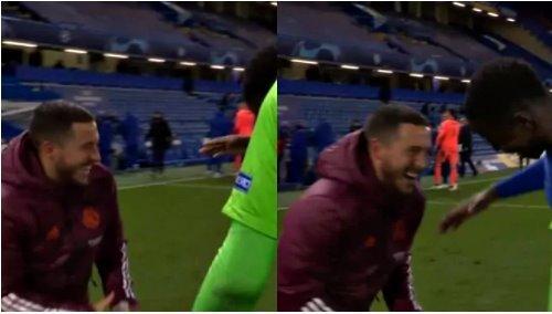Hazard khiến Real Madrid 'ngứa mắt', cười nắc nẻ với sao Chelsea