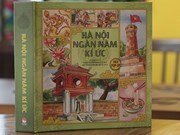 Discovering Hanoi through 3D pop-up book