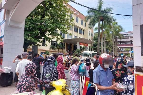 Phong tỏa Bệnh viện Đa khoa tỉnh Thái Bình
