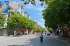Hình ảnh đường phố Thái Bình ở trạng thái khẩn cấp mới để chống dịch
