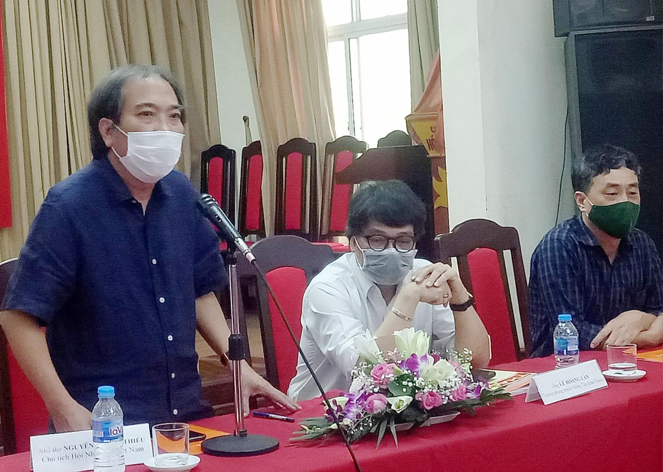 Nhà thơ Nguyễn Quang Thiều: 'Tỷ lệ nhà văn trẻ trong Hội Nhà văn Việt Nam rất thấp'
