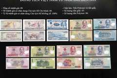 President Ho Chi Minh's image on Vietnam's banknotes