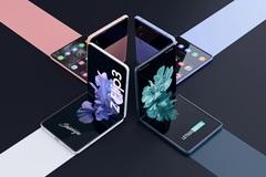 Loạt ảnh tiết lộ smartphone gập vỏ sò Galaxy Z Flip 3 sắp ra mắt