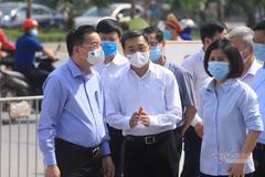 Phong tỏa nội bất xuất ngoại bất nhập Bệnh viện K cơ sở Tân Triều