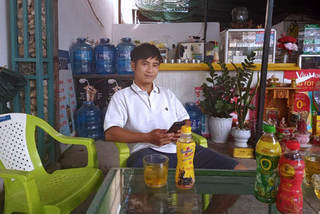 Kon Tum: Một thợ điện uống Number 1 trúng 100 triệu đồng