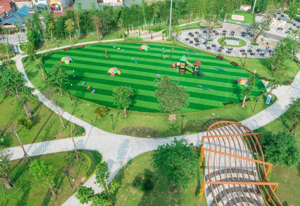 'Giải nhiệt ngày hè' trong không gian xanh của Imperia Smart City