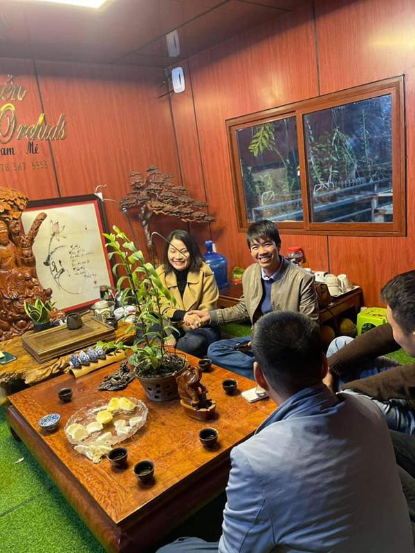 Ông chủ trẻ của vườn lan nghìn mét ở Bắc Ninh