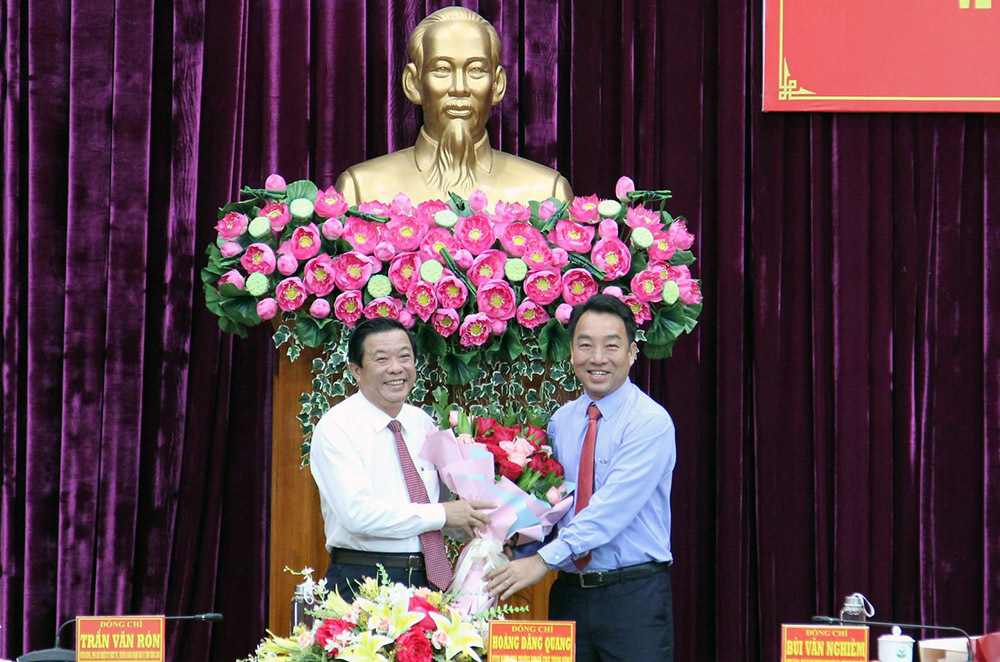 Ông Bùi Văn Nghiêm làm Bí thư Tỉnh ủy Vĩnh Long