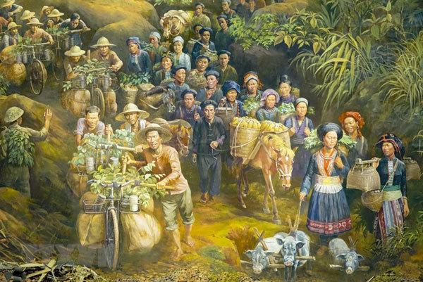 A panorama of Dien Bien Phu Campaign