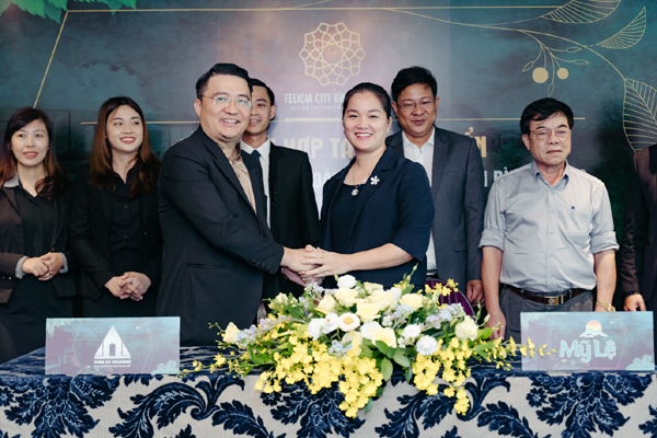 Công ty Mỹ Lệ và Thiên An Holdings hợp tác phát triển dự án Felicia City