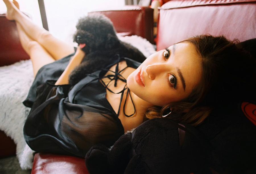 Á hậu Huyền My với cún cưng gắn bó gần 10 năm