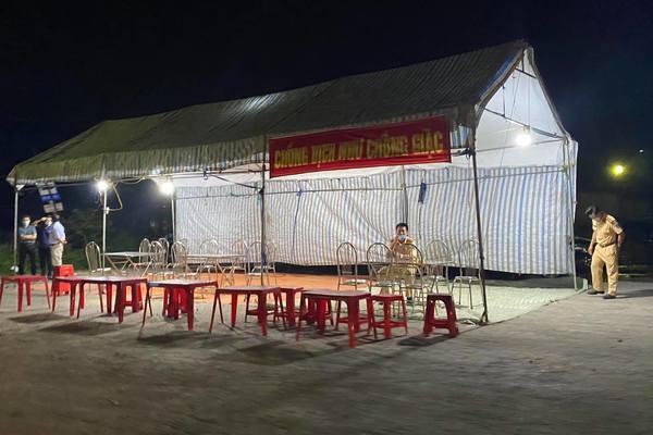 Hải Phòng, Quảng Ninh lập nhiều chốt kiểm soát ra vào địa bàn