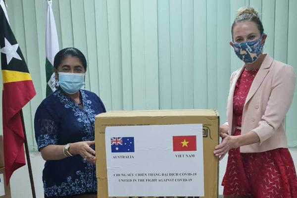 Việt Nam và Australia chung tay hỗ trợ Timor Leste đối phó Covid-19