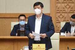 Bộ trưởng Y tế: 'Chúng ta đang trong tình trạng báo động rất cao'
