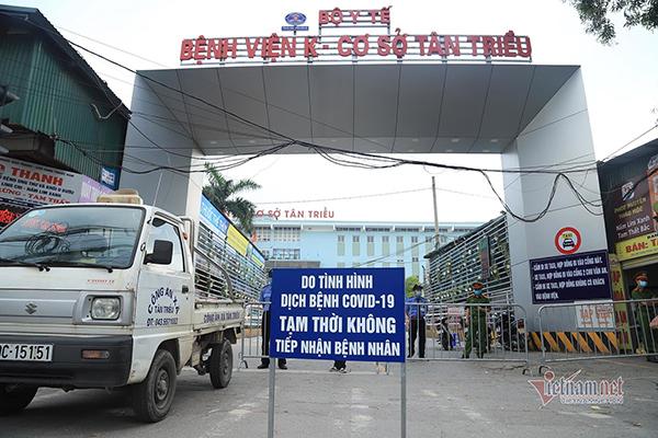 Bí thư Hà Nội: Bệnh nhân, người nhà không giao lưu khi bệnh viện đang phong toả