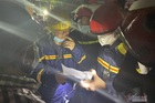 Cháy lớn nhà xưởng làm 7 người chết ở TP.HCM