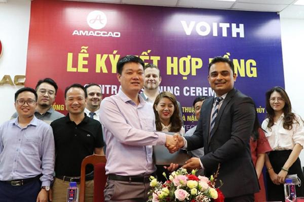 AMACCAO ký hợp tác với Tập đoàn sản xuất tua bin thủy điện số 1 thế giới